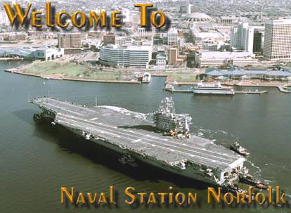 Norfolk Naval Air Station, Norfolk, Virginia